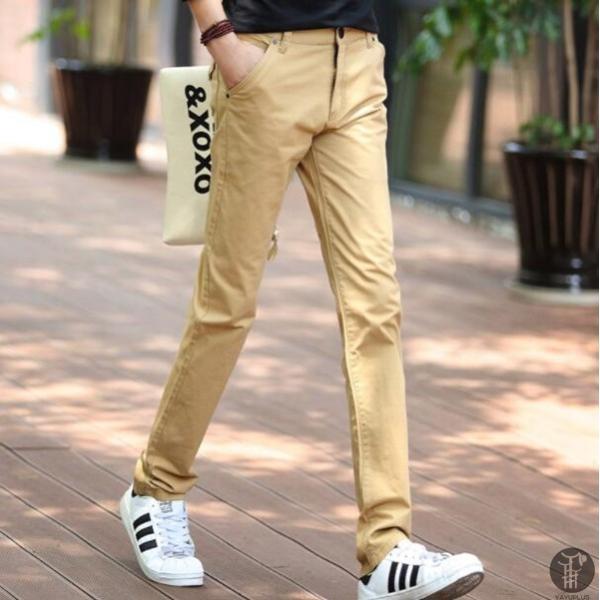 チノパン メンズ ボトムス スキニーパンツ 細身 カラーパンツ 8カラー スリムパンツ メンズ コットン リネン パンツ 代引不可|goodplus|21