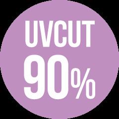 uv cut 90%
