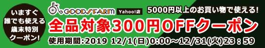 5000円以上のお買い物で使える300円OFFクーポン!