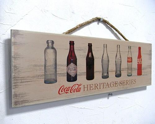 コカコーラ 木製看板
