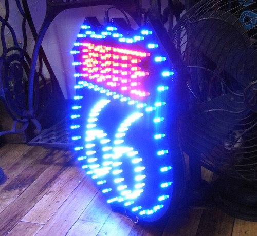 LEDダイカットボード