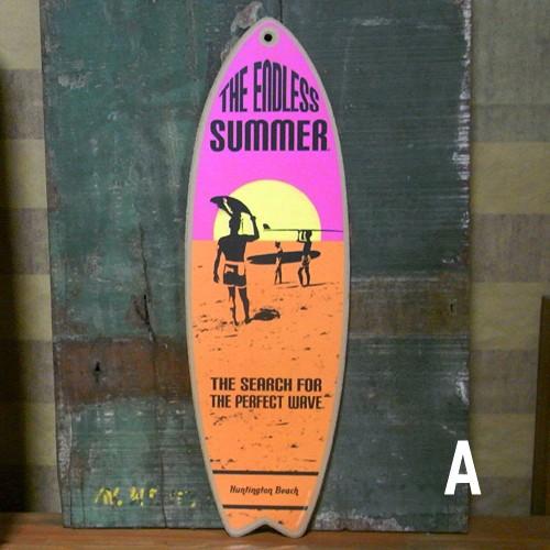 ミニサーフボード 木製看板