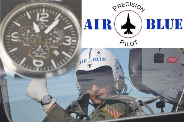 【AIR BLUE/エアーブルー】 腕時計