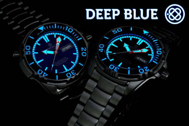 DEEP BLUE (ディープブルー) 腕時計