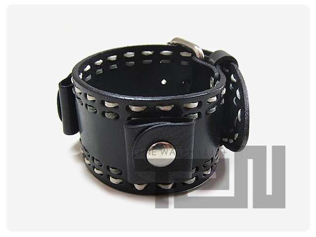 NEMESIS(ネメシス)KDSTH Leather Cuff/レザーカフ付け替えベルト アメリカンカジュアル 腕時計替えバンド/ベルト