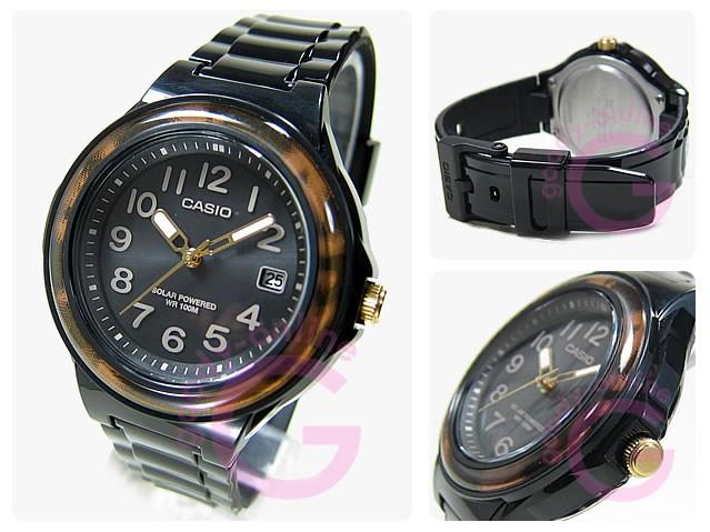CASIO (カシオ) LX-S700H-1B/LXS700H-1B SOLAR POWER SYSTEM/ソーラーパワーシステム レディースウォッチ 腕時計