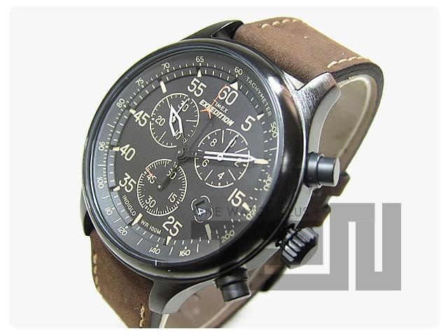 TIMEX(タイメックス) T49905 Field Chronograph/フィールド クロノグラフ ミリタリー 輸入品 腕時計