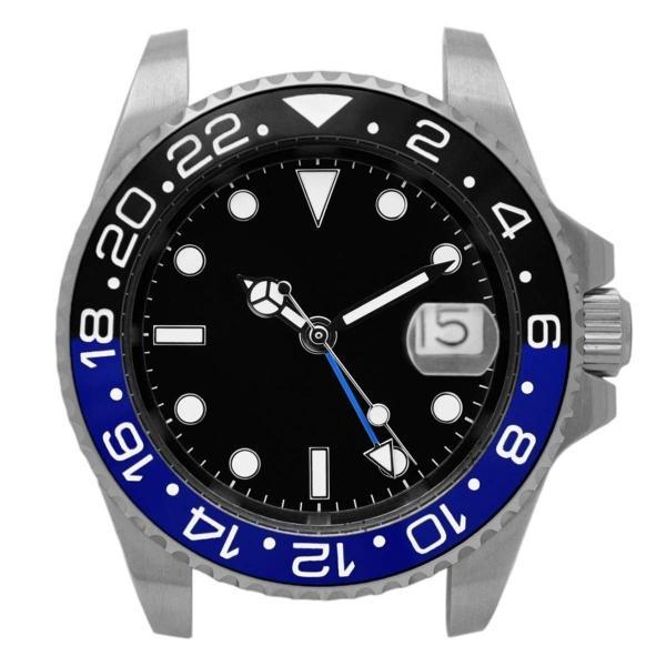 腕時計 メンズ NOLOGO ノーロゴ GMTマスター パイロットウォッチ NL000M|googoods|09