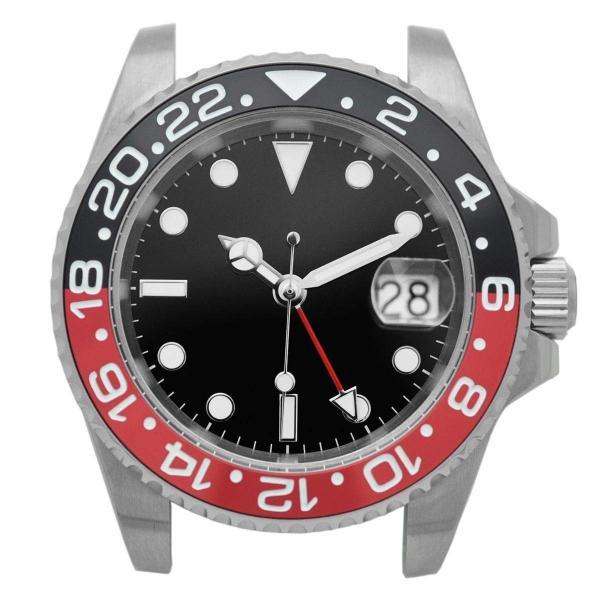 腕時計 メンズ NOLOGO ノーロゴ GMTマスター パイロットウォッチ NL000M|googoods|10