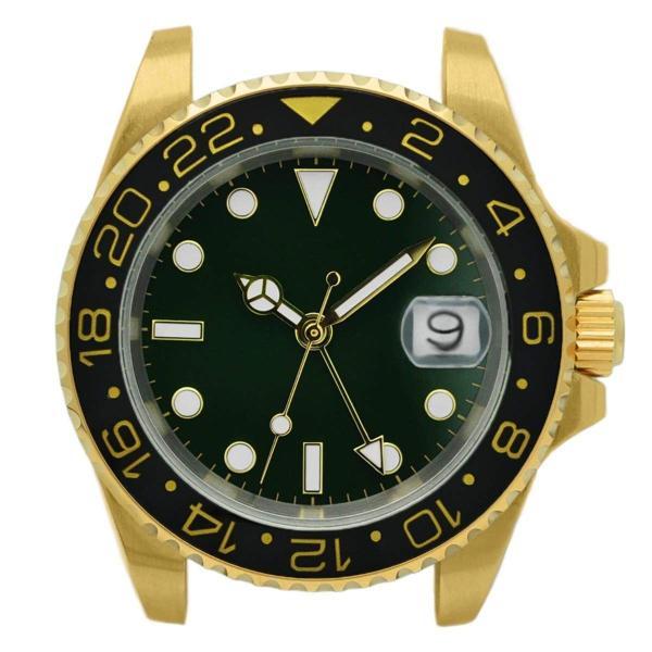 腕時計 メンズ NOLOGO ノーロゴ GMTマスター パイロットウォッチ NL000M|googoods|14