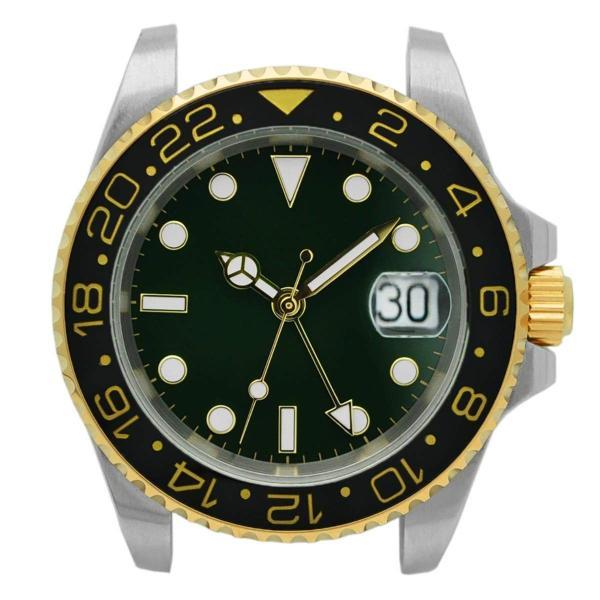 腕時計 メンズ NOLOGO ノーロゴ GMTマスター パイロットウォッチ NL000M|googoods|13