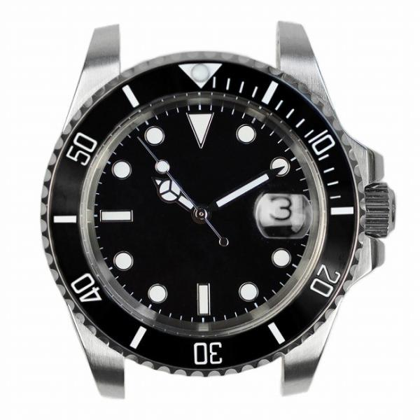 腕時計 メンズ NOLOGO ノーロゴ サブマリーナー ダイバーズウォッチ NL000S googoods 06
