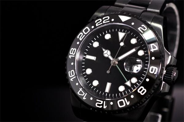 28983a15dc 送料無料】NOLOGOノーロゴ スイス製 自動巻GMTマスターNL-063BB4ASG ...