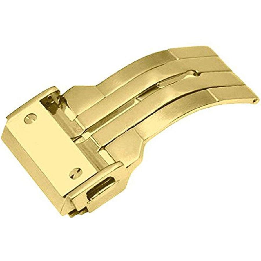 For HUBLOT ウブロ 腕時計の着脱が楽々 ベルトの寿命もUP 新型折畳式(両側プッシュ式) HUBLOT ウブロ向けDバックル登場 PDB220|googoods|05