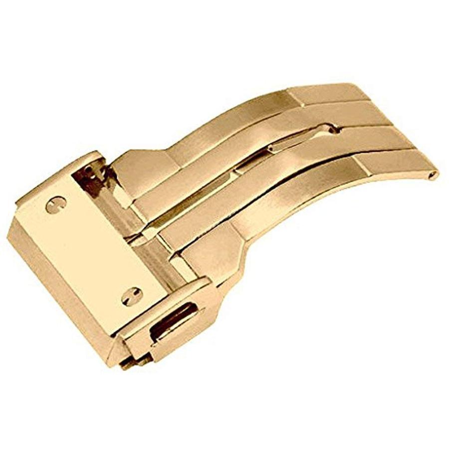 For HUBLOT ウブロ 腕時計の着脱が楽々 ベルトの寿命もUP 新型折畳式(両側プッシュ式) HUBLOT ウブロ向けDバックル登場 PDB220|googoods|06