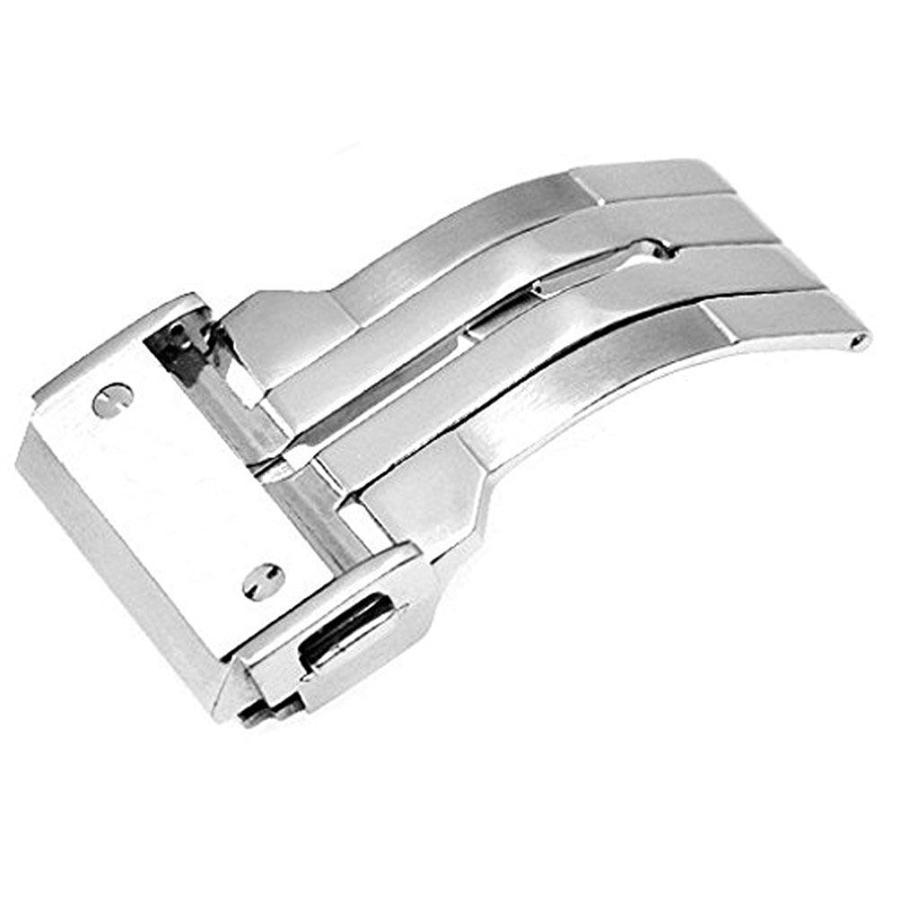 For HUBLOT ウブロ 腕時計の着脱が楽々 ベルトの寿命もUP 新型折畳式(両側プッシュ式) HUBLOT ウブロ向けDバックル登場 PDB220|googoods|07