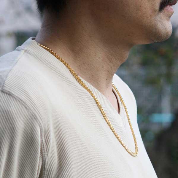 喜平ロングネックレスゴールド01-2