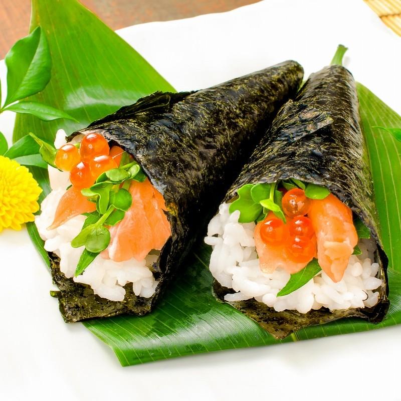 サーモンハラス切り落とし 手巻き寿司