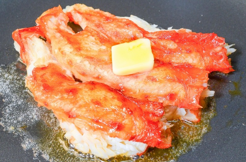 ミナミタラバガニ バター焼き