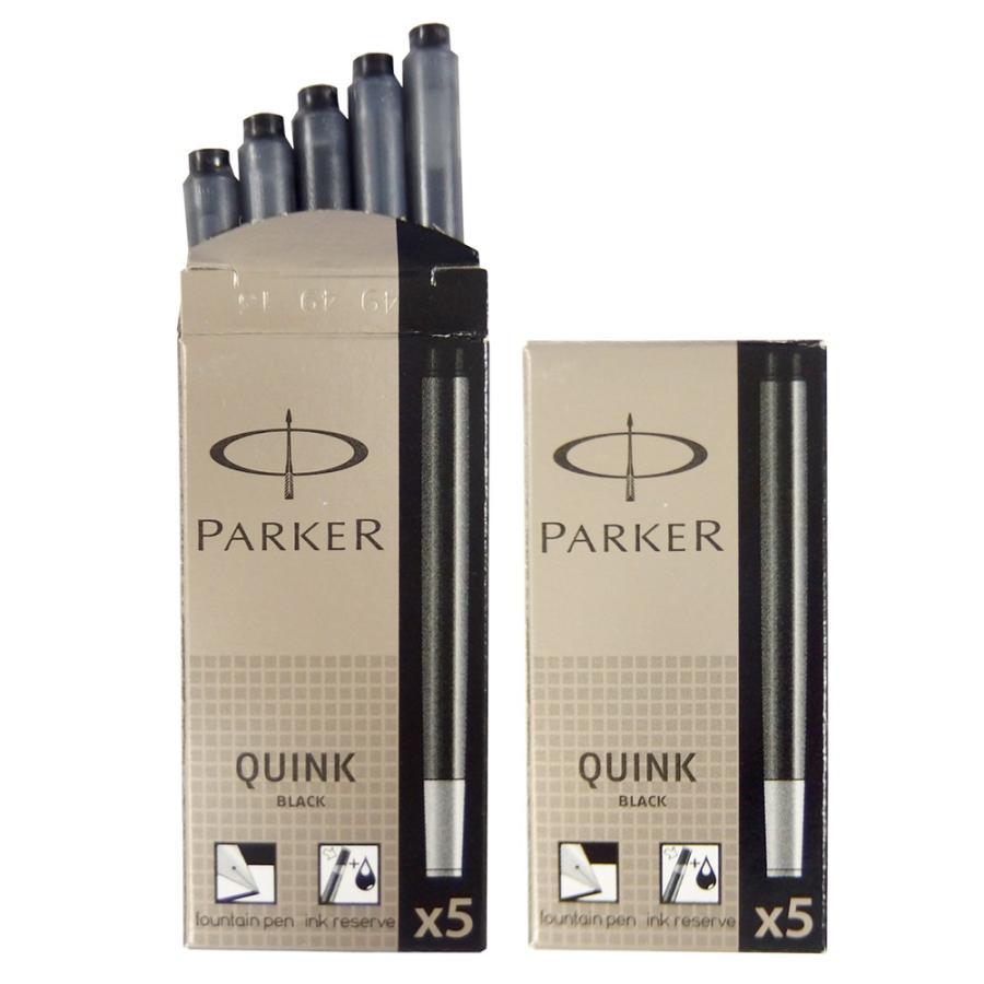 クリックポスト送料無料 パーカー PARKER 万年筆 カートリッジ インク クインク QUINK 各色 2箱セット (1箱 5本入り) 3色展開 リフィル レフィル 日本正規品|gport|08