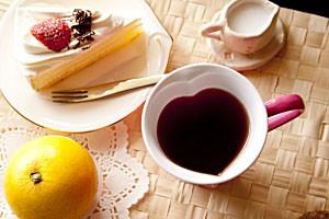 ハート型マグカップ メラミン食器 ピンク