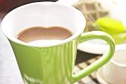 ハートマグカップ グリーン
