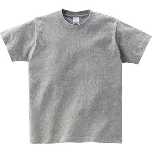 Tシャツ メンズ レディース 半袖 厚手 無地 Printstar プリントスター 5.6オンス ヘビーウェイトTシャツ grafit 22