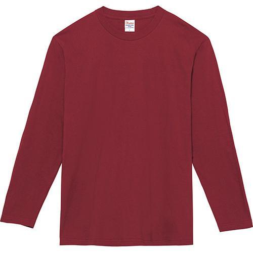 Tシャツ メンズ レディース 長袖 厚手 無地 Printstar プリントスター 5.6オンス ヘビーウェイト長袖Tシャツ|grafit|30