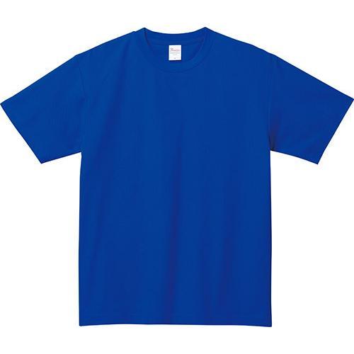 Tシャツ メンズ レディース 半袖 鹿の子 無地 Printstar プリントスター 5.8オンス T/CクルーネックTシャツ grafit 21