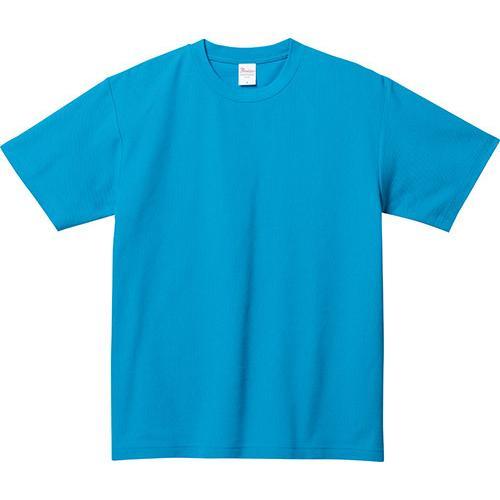 Tシャツ メンズ レディース 半袖 鹿の子 無地 Printstar プリントスター 5.8オンス T/CクルーネックTシャツ grafit 22
