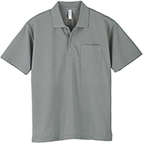 ポロシャツ メンズ レディース 半袖 吸汗速乾 無地 glimmer グリマー 4.4オンス ドライポロシャツ ポケット付き|grafit|20