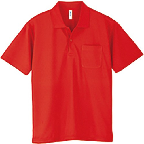 ポロシャツ メンズ レディース 半袖 吸汗速乾 無地 glimmer グリマー 4.4オンス ドライポロシャツ ポケット付き|grafit|22