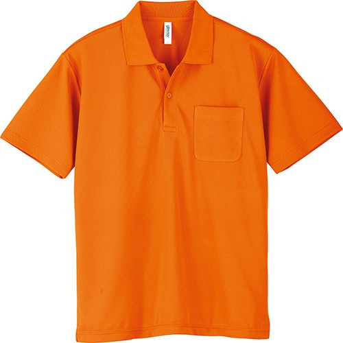 ポロシャツ メンズ レディース 半袖 吸汗速乾 無地 glimmer グリマー 4.4オンス ドライポロシャツ ポケット付き|grafit|25