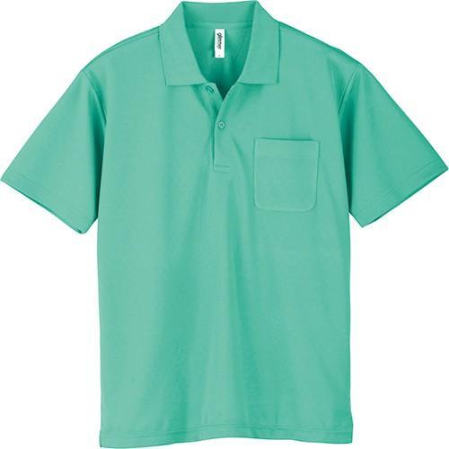 ポロシャツ メンズ レディース 半袖 吸汗速乾 無地 glimmer グリマー 4.4オンス ドライポロシャツ ポケット付き|grafit|29