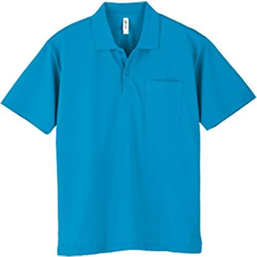 ポロシャツ メンズ レディース 半袖 吸汗速乾 無地 glimmer グリマー 4.4オンス ドライポロシャツ ポケット付き|grafit|33