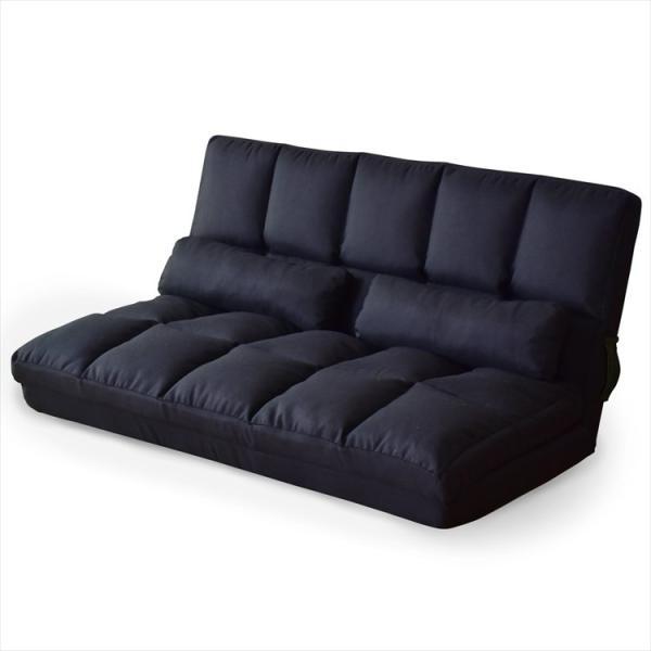 ソファ ソファー sofa ソファベッド ベット リクライニング セミダブル 2人掛け ローソファ ローソファー 2way 3way リーフ|grazia-doris|16