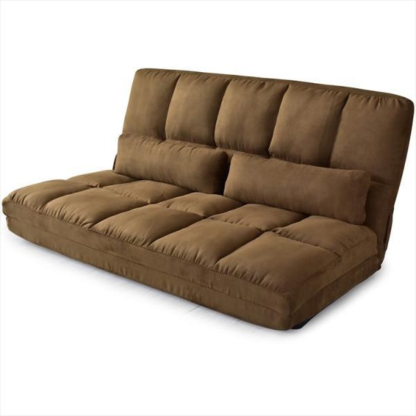 ソファ ソファー sofa ソファベッド ベット リクライニング セミダブル 2人掛け ローソファ ローソファー 2way 3way リーフ|grazia-doris|13