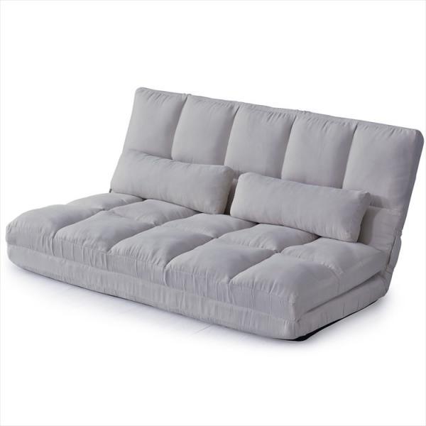 ソファ ソファー sofa ソファベッド ベット リクライニング セミダブル 2人掛け ローソファ ローソファー 2way 3way リーフ|grazia-doris|17