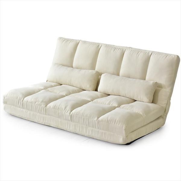 ソファ ソファー sofa ソファベッド ベット リクライニング セミダブル 2人掛け ローソファ ローソファー 2way 3way リーフ|grazia-doris|14