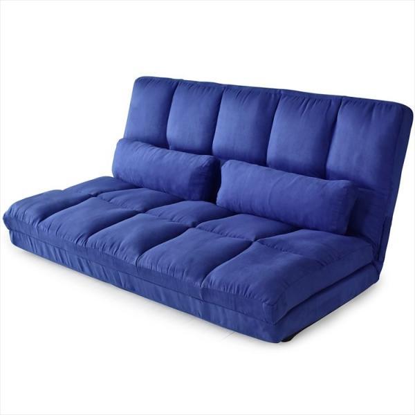 ソファ ソファー sofa ソファベッド ベット リクライニング セミダブル 2人掛け ローソファ ローソファー 2way 3way リーフ|grazia-doris|18