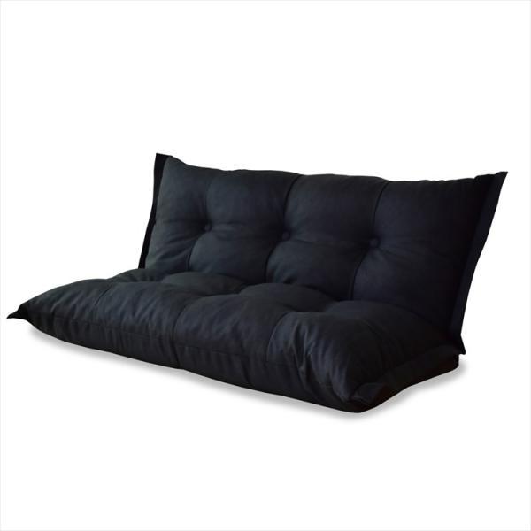 PayPay使えます ローソファー 2人用ソファー ソファ 2人掛け おしゃれ かわいい ソファベッド 3way ワンルーム ふかふか リラックス ポイント消化 grazia-doris 24