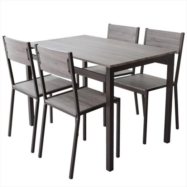 ダイニングテーブル おしゃれ ダイニングテーブルセット 4人 ダイニング 椅子 チェア4脚 ダイニングセット スクエア5点セット grazia-doris 13