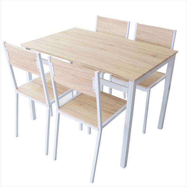 ダイニングテーブル おしゃれ ダイニングテーブルセット 4人 ダイニング 椅子 チェア4脚 ダイニングセット スクエア5点セット grazia-doris 12