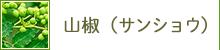 山椒(サンショウ)