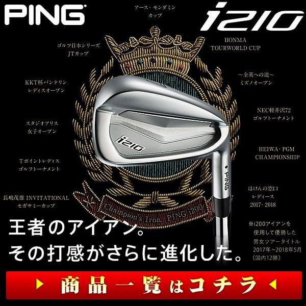 ピン PING i210 アイアン
