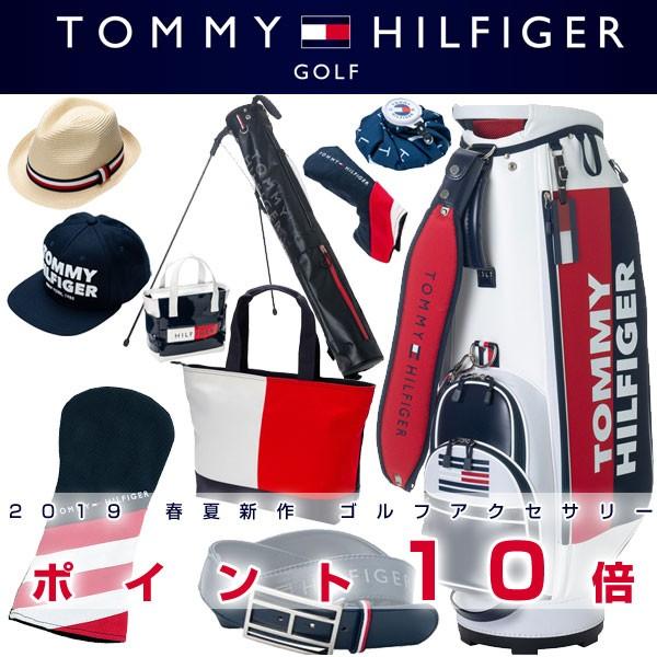 トミー ヒルフィガー バッグ ケース ゴルフ アクセサリー ヘッドカバー 帽子