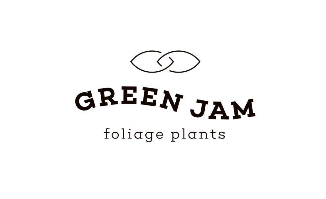 GREEN JAM foliageplant ロゴ