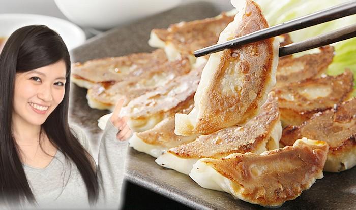 菜食サラダ餃子