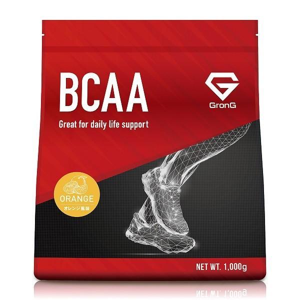 【1000円クーポン】GronG(グロング) BCAA 含有率82% オレンジ 風味 1kg (100食分)  分岐鎖アミノ酸 サプリメント 国産 grong 11