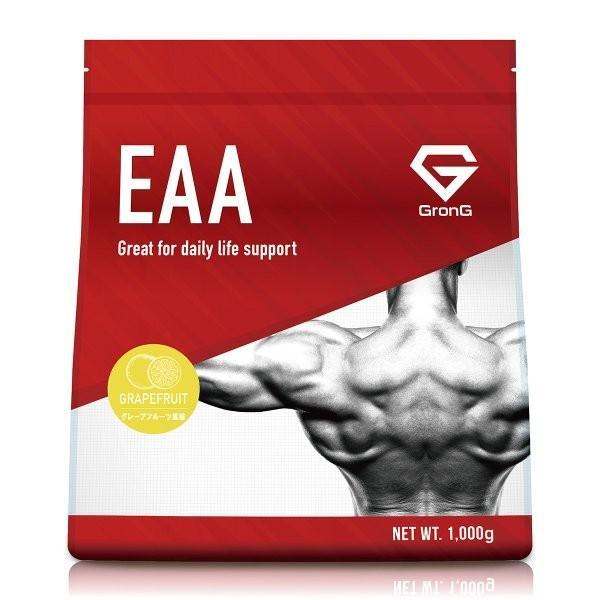 GronG(グロング) EAA グレープフルーツ  風味 1kg (100食分)  10種類 アミノ酸 サプリメント 国産|grong|11